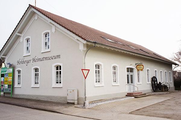 Heimatsmuseum: Historischer Verein Hohberg